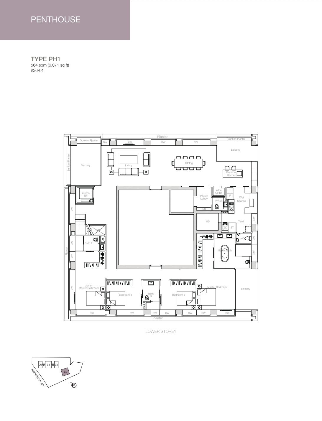 Nouvel 18 floorplan